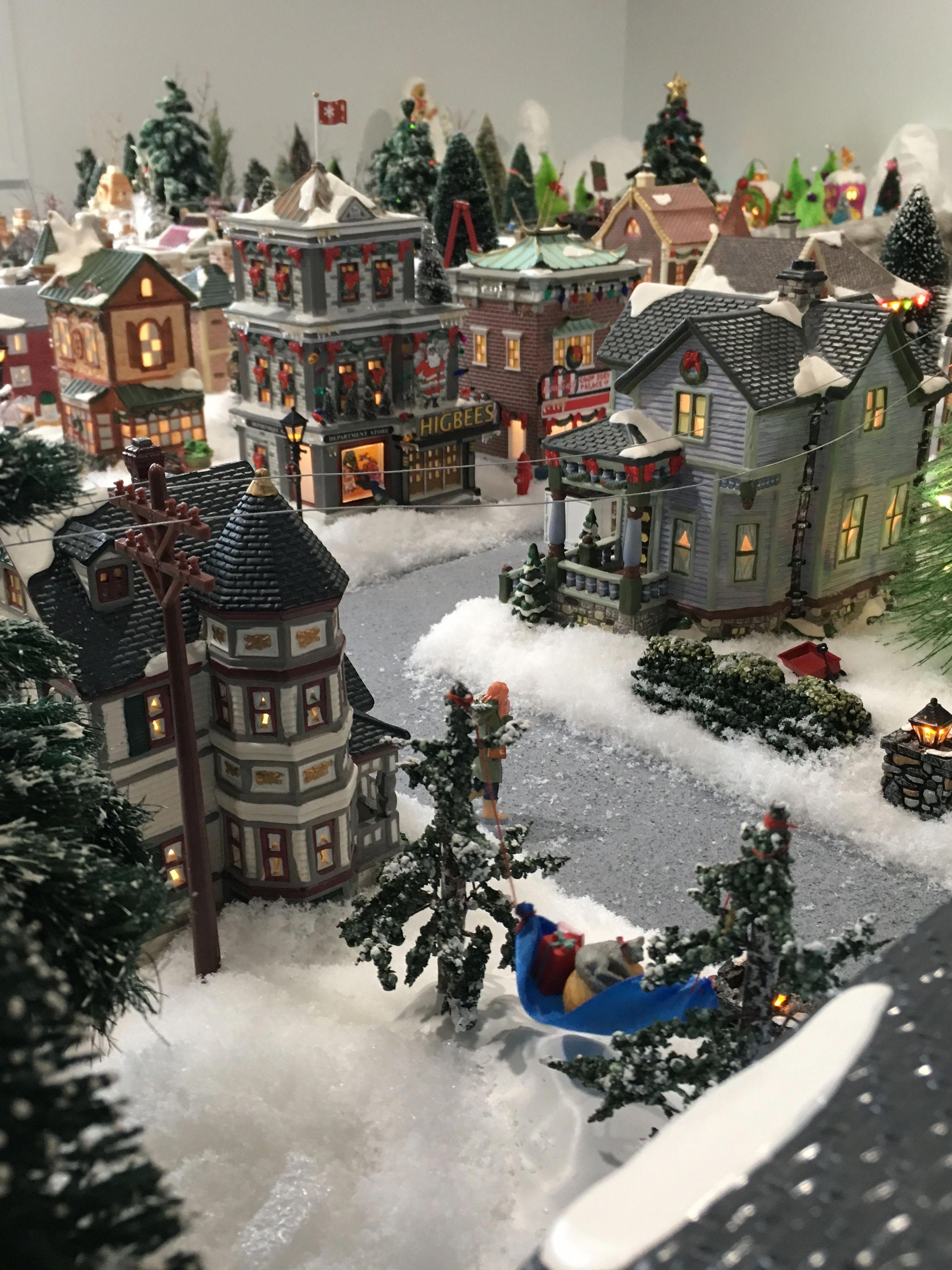 model trains plans | Christmas village display, Christmas villages