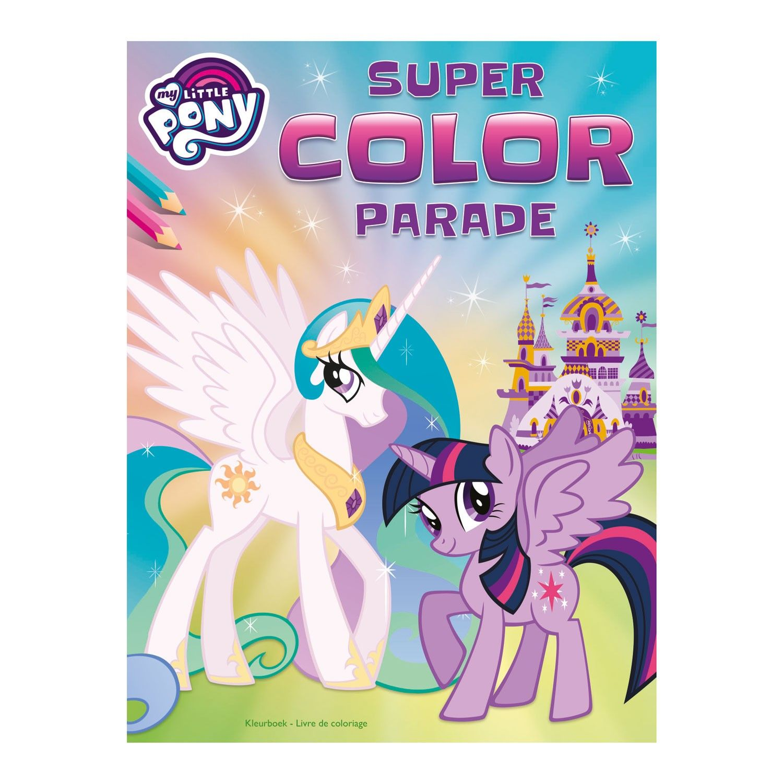 Nieuwe My Little Pony Kleurplaten.Super Color Parade My Little Pony Nieuw Speelgoed New Toys My