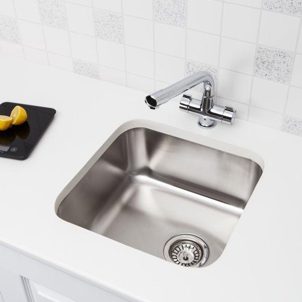 Sauber Stainless Steel Kitchen Undermout Sink One Bowl   Kitchens ...