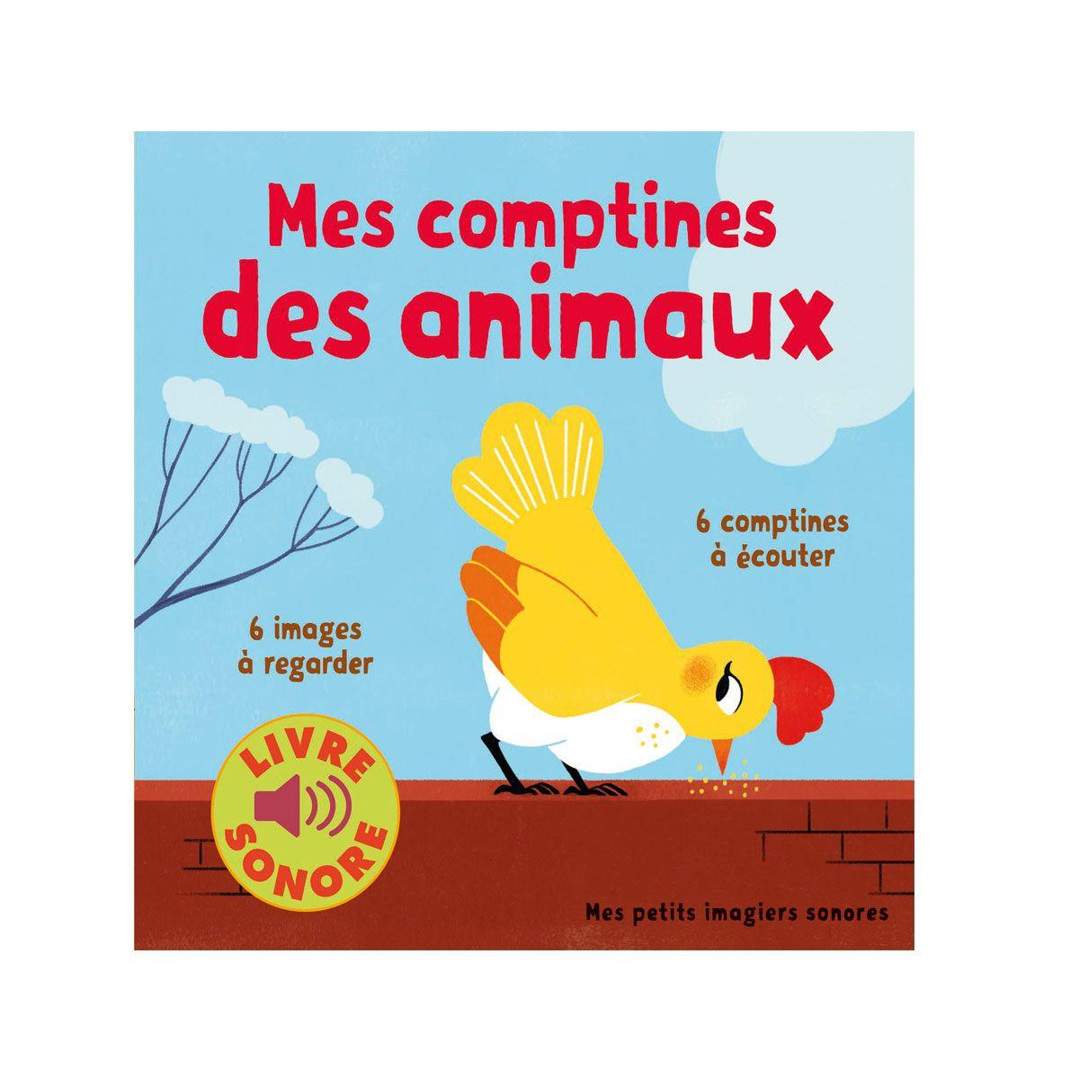 Livre Sonore Mes Comptines Des Animaux 包装