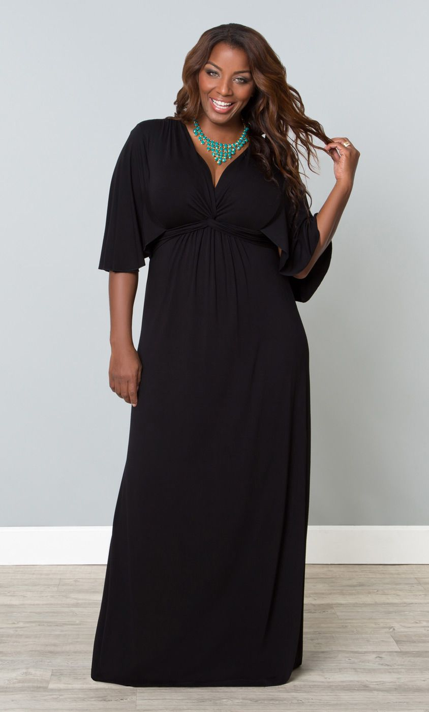 515c7164cbb Plus Size Charlize Maxi Dress