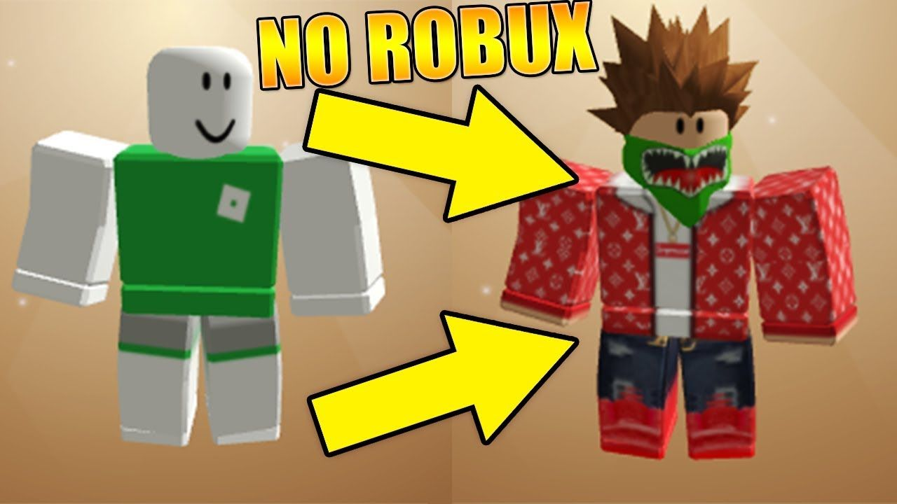 Roblox How To Look Rich And Pro With 0 Robux How To Look Rich Roblox That Look