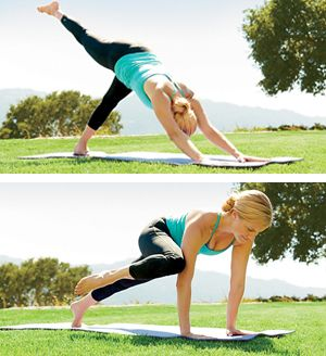Lose Up To 13 Pounds In 6 Weeks With This Yoga Plan Flat Belly And