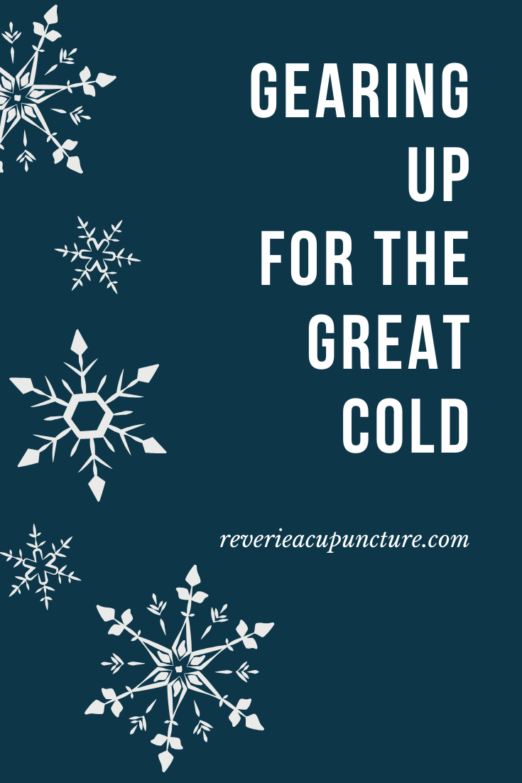 The great cold is the last seasonal node of winter. This is the time of winter when we've fully returned to center and are undergoing the movement of transformation. This means that it's important to support your digestion, your qi and blood, and process everything you've learned about yourself and the world this winter.  #winter #wintermood #seasonalliving #livingseasonally #winterwonderland