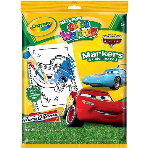 Crayola Color Wonder - Disney Pixaru0027s Cars The Movie - Crayola - best of crayola mini coloring pages cars