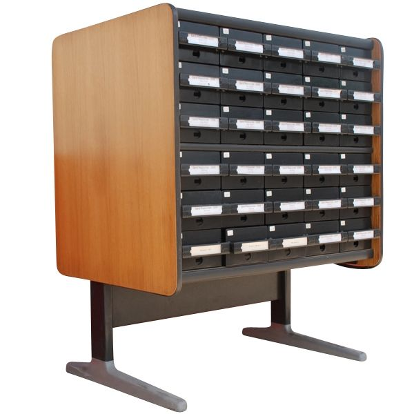 Herman Miller Nelson Library Index Card File Cabinet! Oh my!!!! Vintage ... - Herman Miller Nelson Library Index Card File Cabinet! Oh My