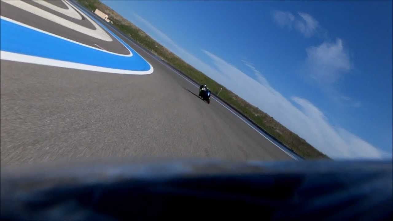 ZZR 1400 au Circuit du Castellet HTTT Circuit, Tours