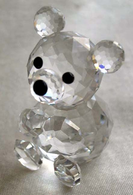 Crystal Collectible Ornament Home Decor Cut Glass Small Mouse Figurine