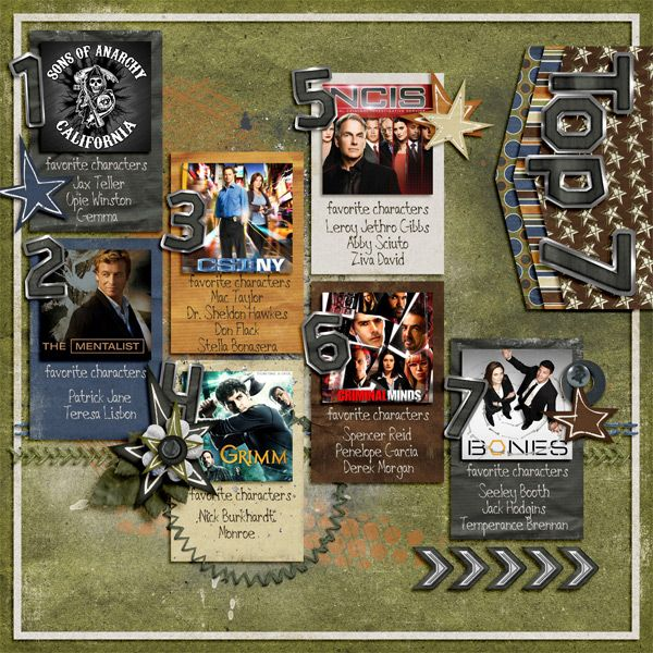 Weekly Project Templates 2 by Scrapping with Liz   Off Road Bundle by Dream Big Designs