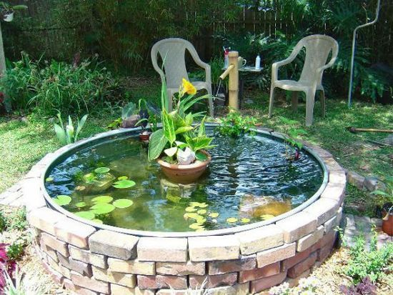 Keep Cool On A Budget This Summer With A Trendy Stock Tank Pool images