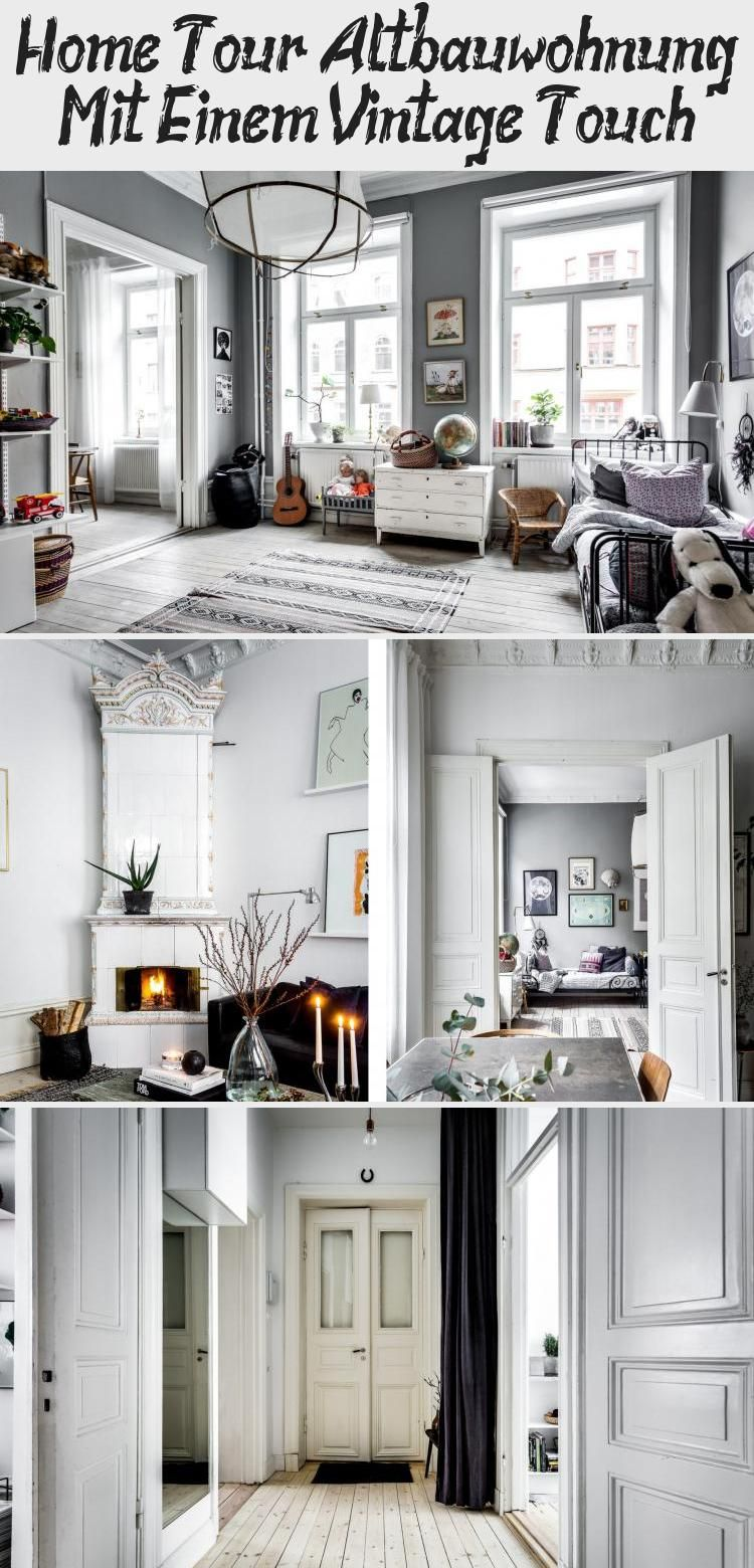 Photo of Home Tour: Old Building Apartment With A Vintage Touch Decoration