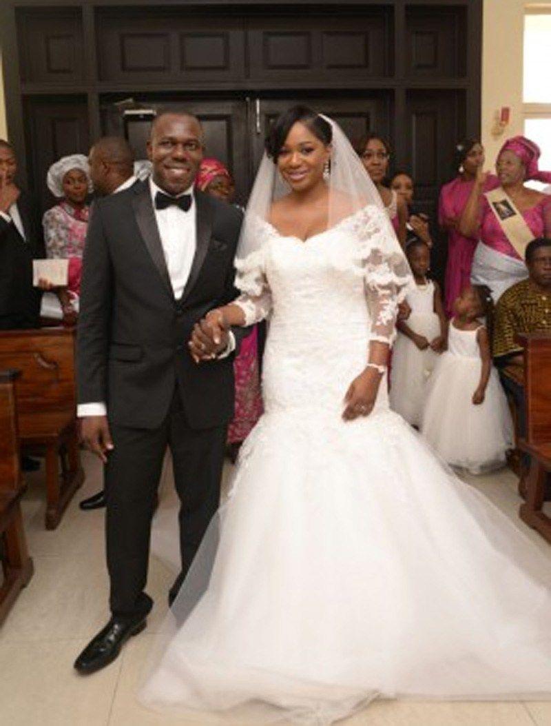 Long sleeve plus size wedding dress   Mermaid Long Sleeve Lace Court Train African Plus Size Wedding