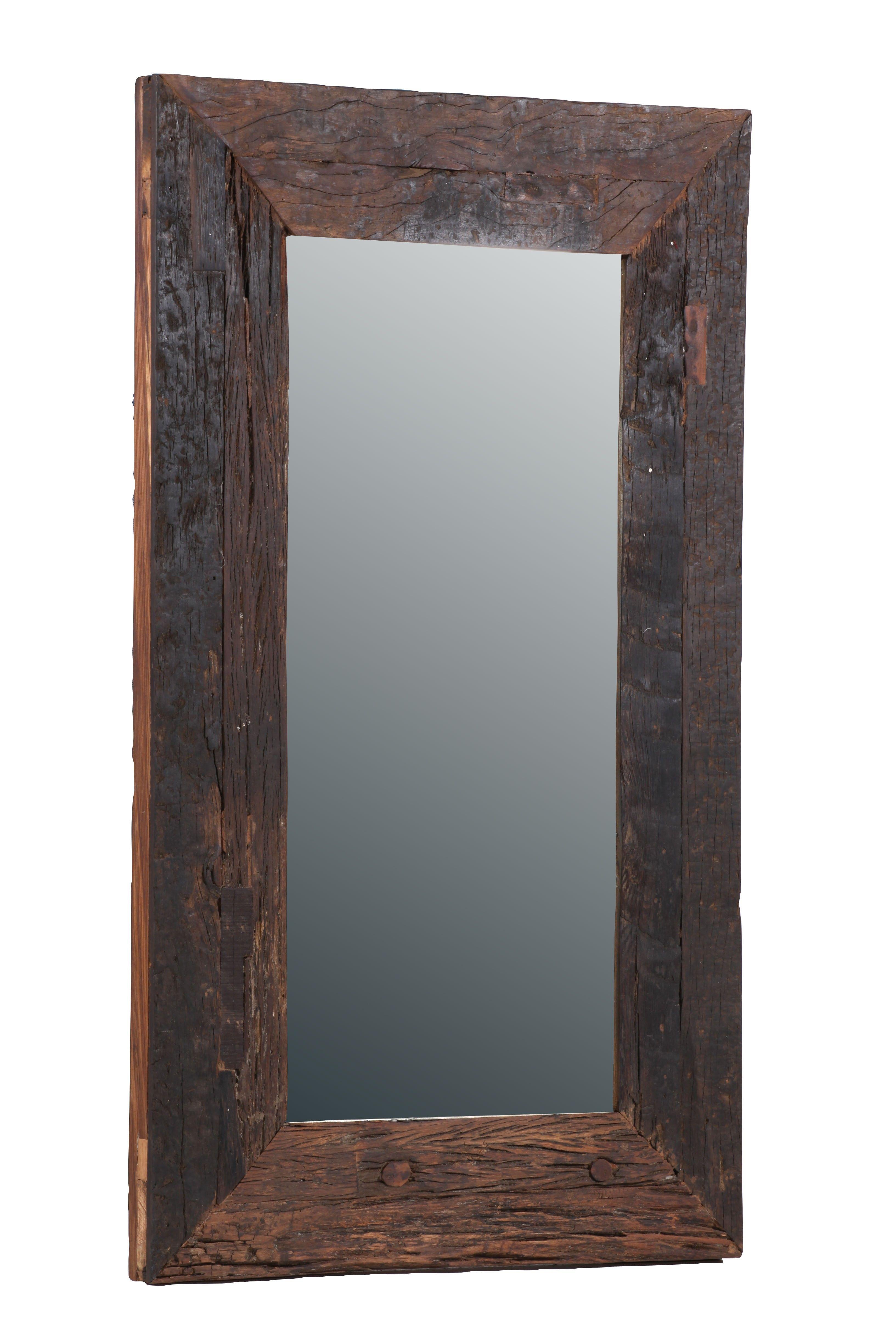 Setzen Sie Vintage Akzente In Ihrem Retro Badezimmer Durch Einen Spiegel!  Der Spiegel