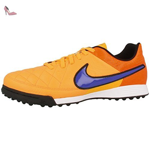 Nike , Chaussures de football pour homme - Orange - Orange/Black, 40.5