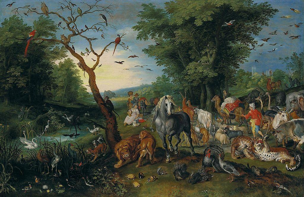 Jan Breughel de Jonge - De vermelding van de dieren in de ark van Noach.jpg