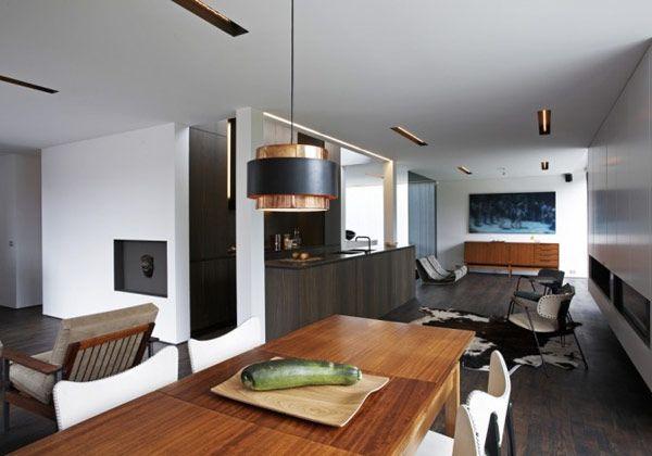 Bauhaus style house renovation by Arjaan De Feyter Bauhaus style