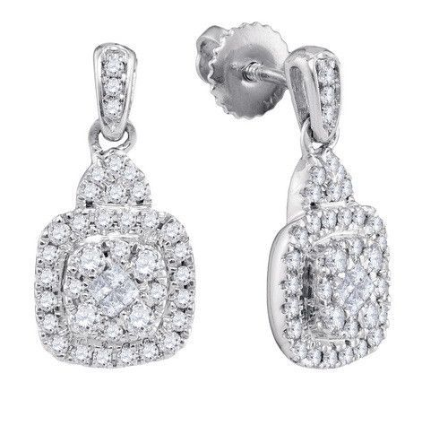 1/2CTW-Diamond SOLEIL EARRINGS