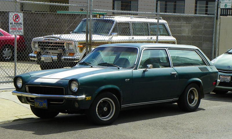 San Francisco Street Sighting 1972 Chevrolet Vega 2300 Gt