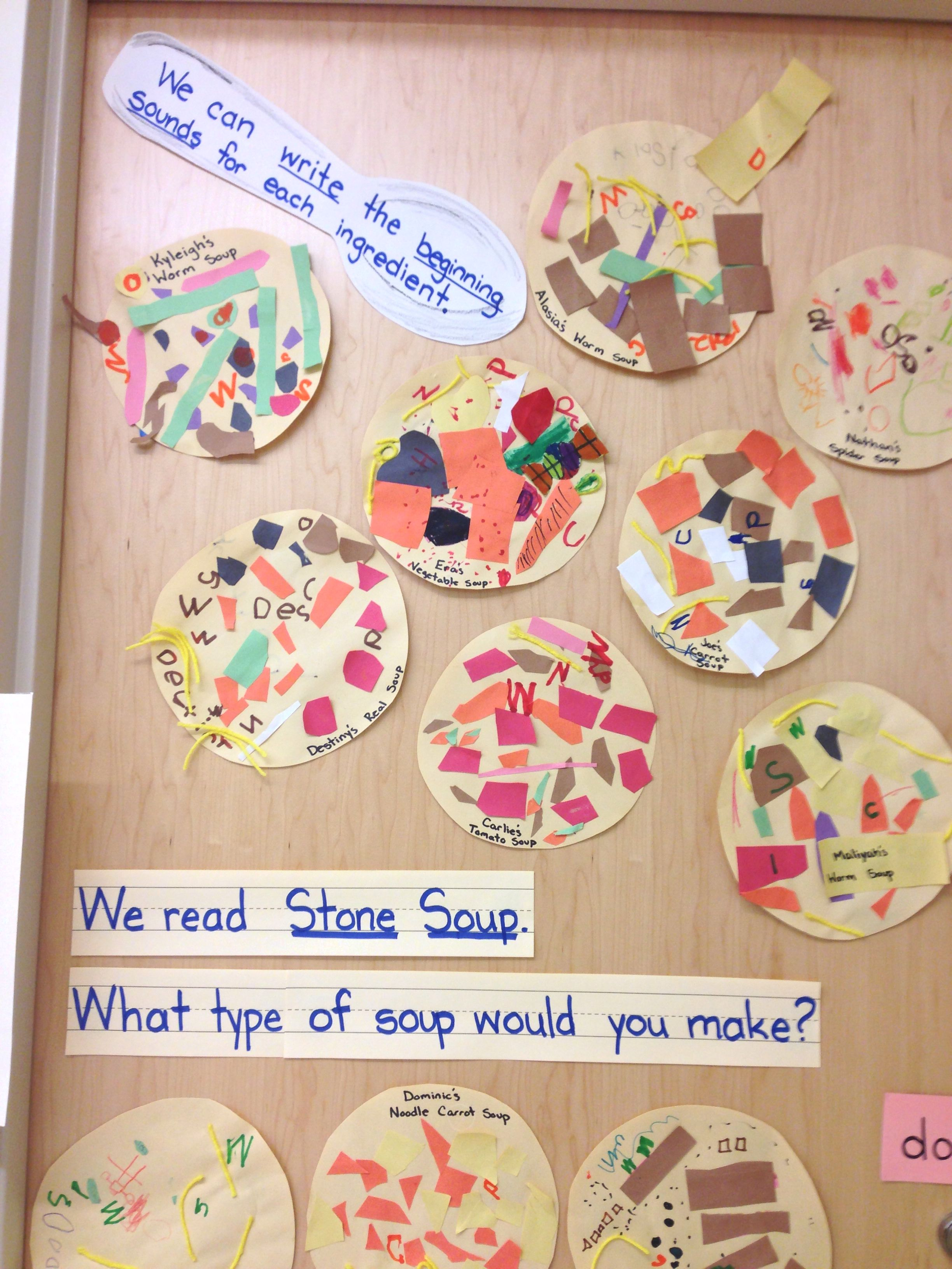 What Kind Of Stone Soup Would You Make