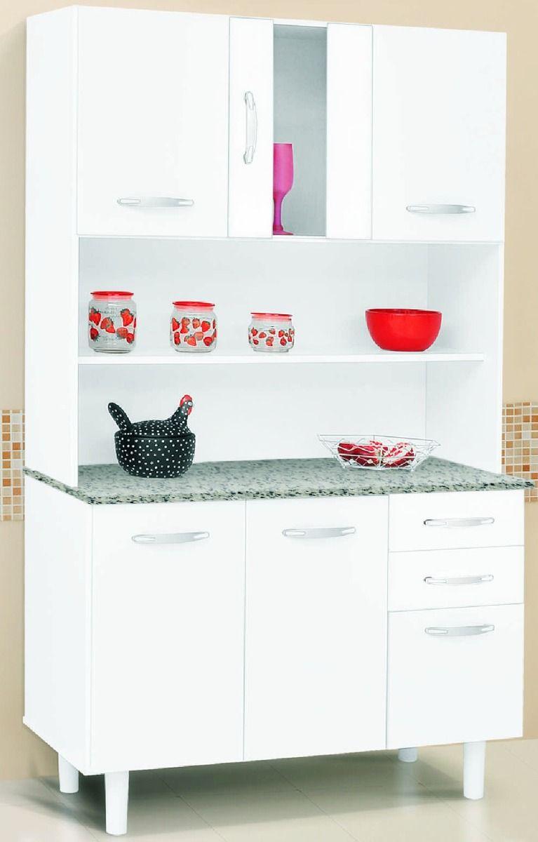 Mueble de cocina alacena armario kit 6puertas2cajones vidrio ideas casa house creatividad - Muebles de cocina en kit ...