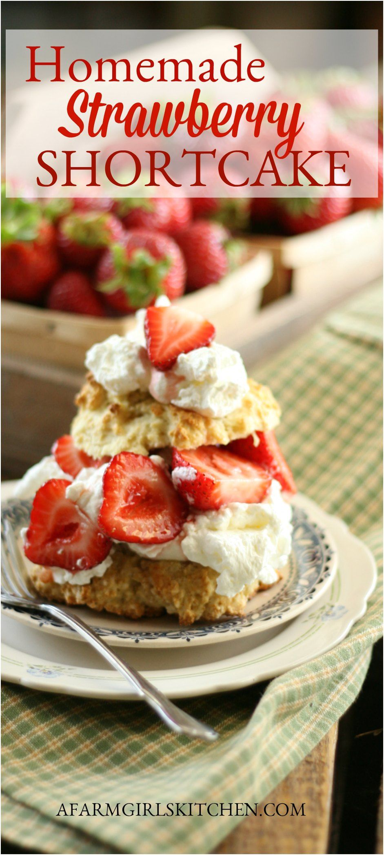 Homemade Strawberry Shortcake Easy To Make Simple Ingredients In 2020 Homemade Strawberry Shortcake Strawberry Shortcake Recipes Strawberry Shortcake Recipe Easy