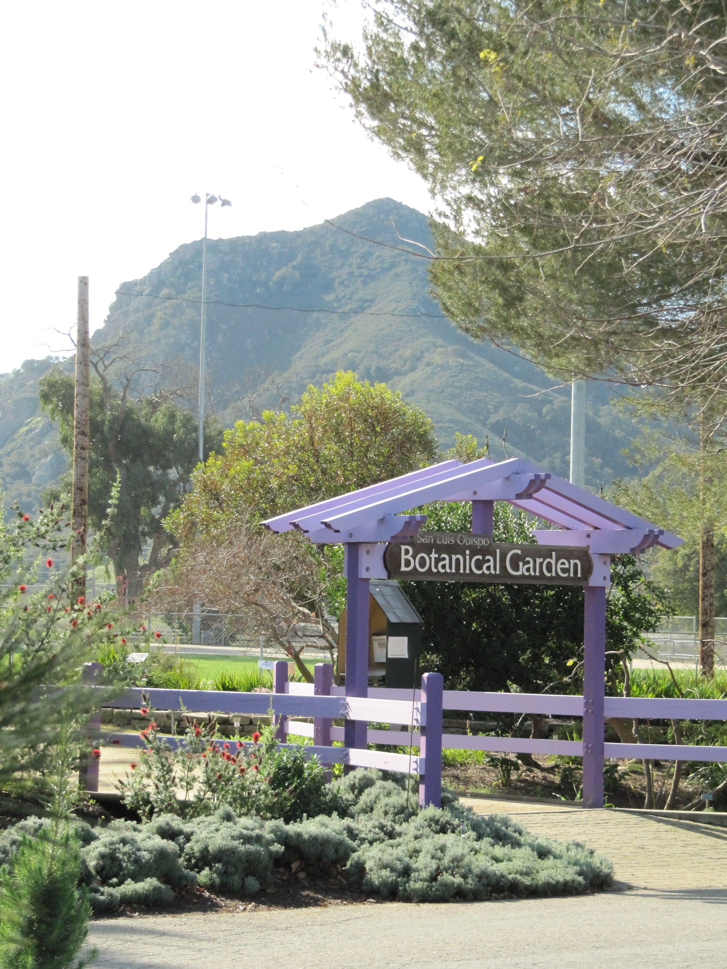 Charmant San Luis Obispo Botanical Garden Entrance