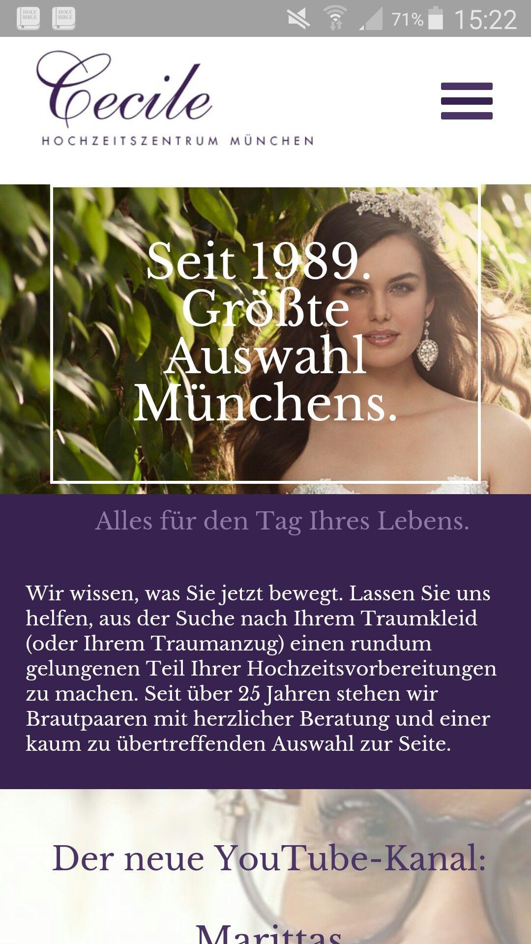 Riesen Brautmodengeschaft Mit Desingerabteilung In Munchen And