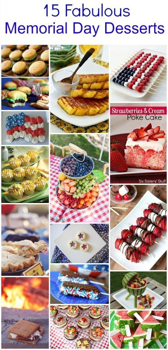 15 fabulous memorial day bbq dessert ideas tikkido com 4th of
