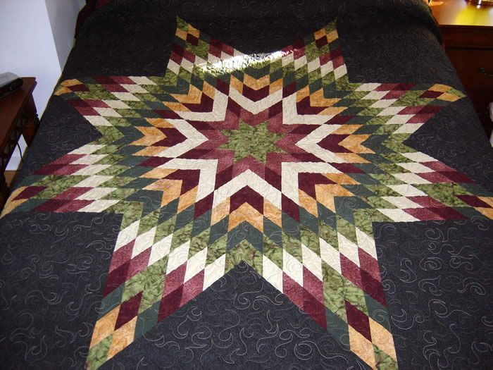 Native American Quilt Patterns Free | make a quilt in no time with ... : easy star quilt - Adamdwight.com