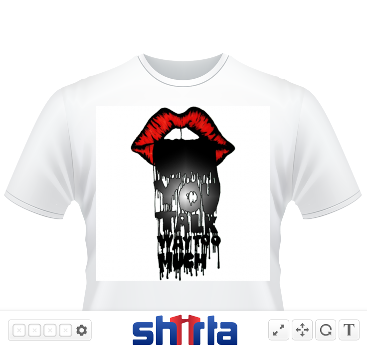 From Sanity's Playground, gothic horror and dark fantasy combine with a touch of evil that's just a little cute. Perfect for halloween or the everyday monster fanatic, this shirt will let the world know that you are a freak with fashion sense.