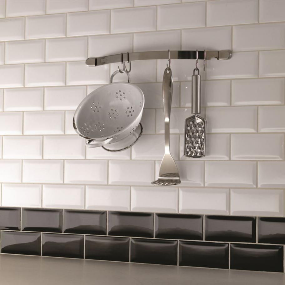 Image result for kitchen tiles with a feature wall