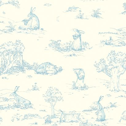 Quot Guess How Much I Love You Quot Toile Rabbit Rabbit
