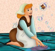 *CINDERELLA & GUS ~ Cinderella, released: 1950