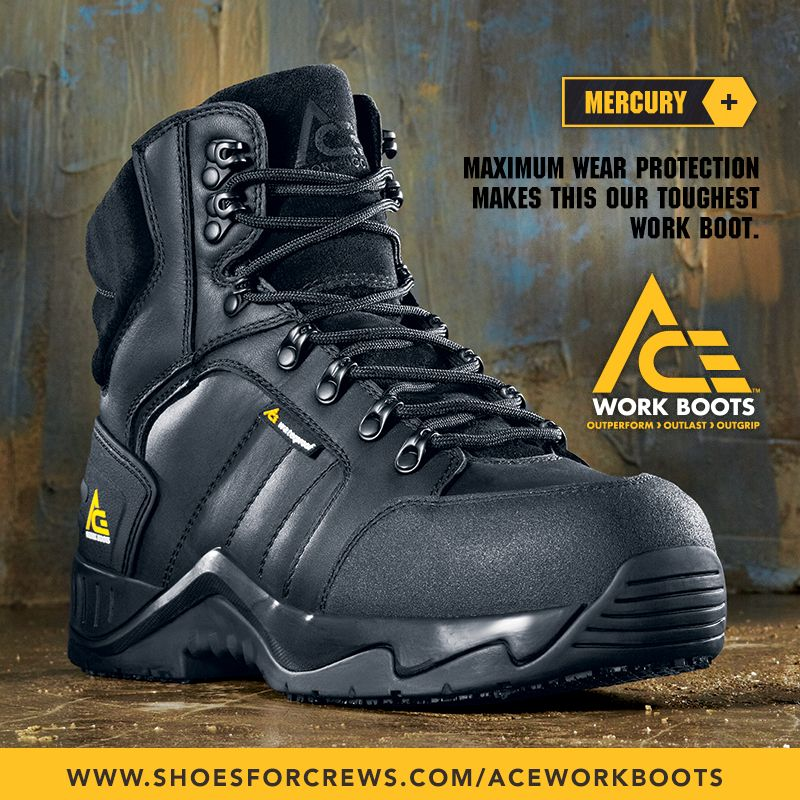 5cced76a2a8 Pin by Shoes For Crews on ACE Work Boots™ - Born to Grip, Built to ...