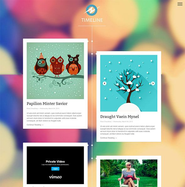 Timeline Template For Blogs DG Web Pinterest Blogger - Timeline blogger template