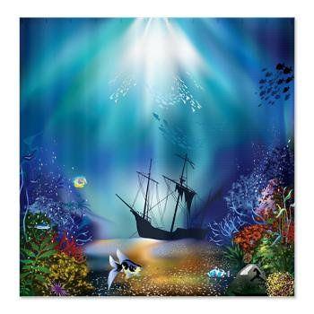 Underwater Plants Illustration