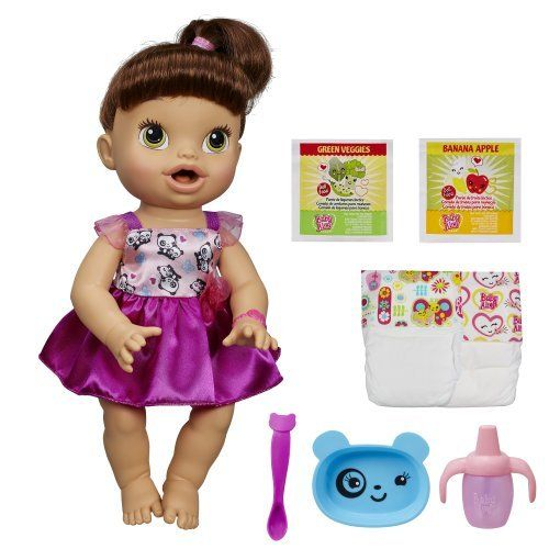 Baby Alive My Baby All Gone Doll Brunette By Baby Alive Your Little One Will Love Feeding And Taking Care Of He Baby Alive Dolls New Baby Products Baby Alive
