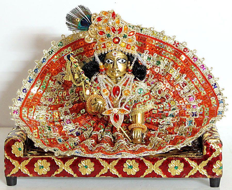 Bal Gopal - Brass Statue