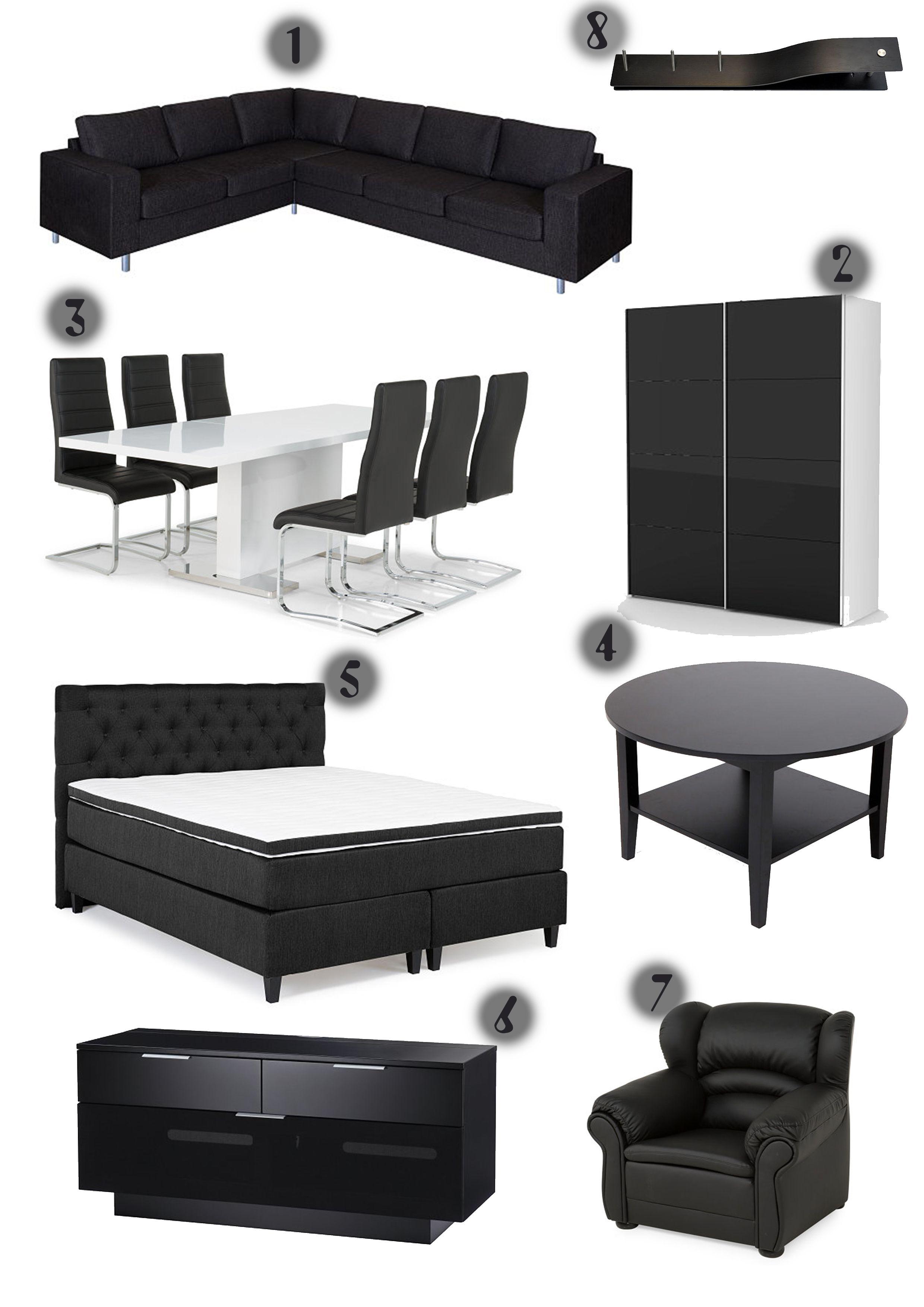 85c84aef Danderyd | Trademax Moodboard. | Soffbord, Stolar och Möbler