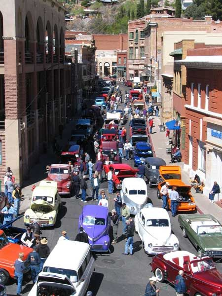 Copper Classic Car Show Held T Events And Fun Happenings In - Bisbee car show