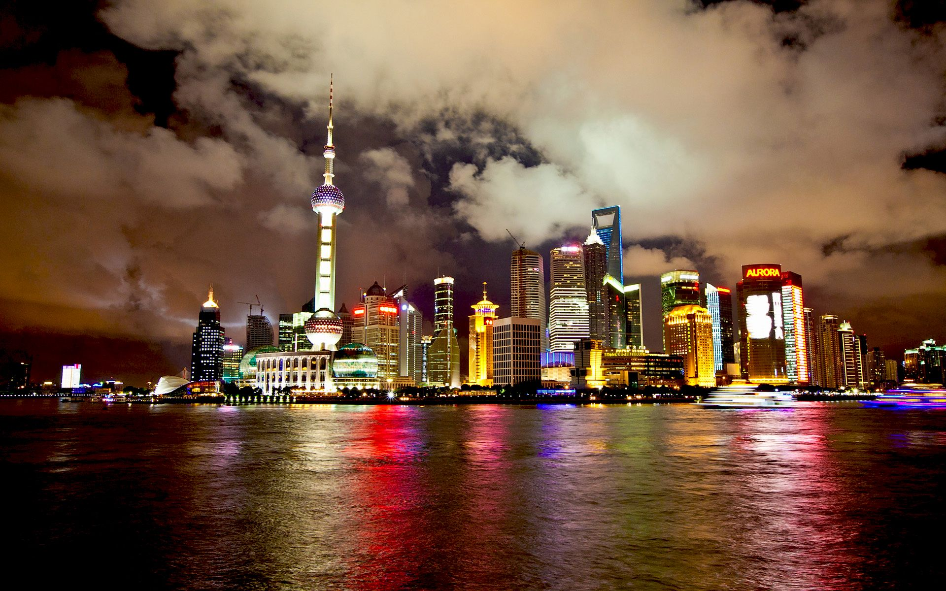 Pin By Mount Wall On Amazing Wallpapers Shanghai Skyline