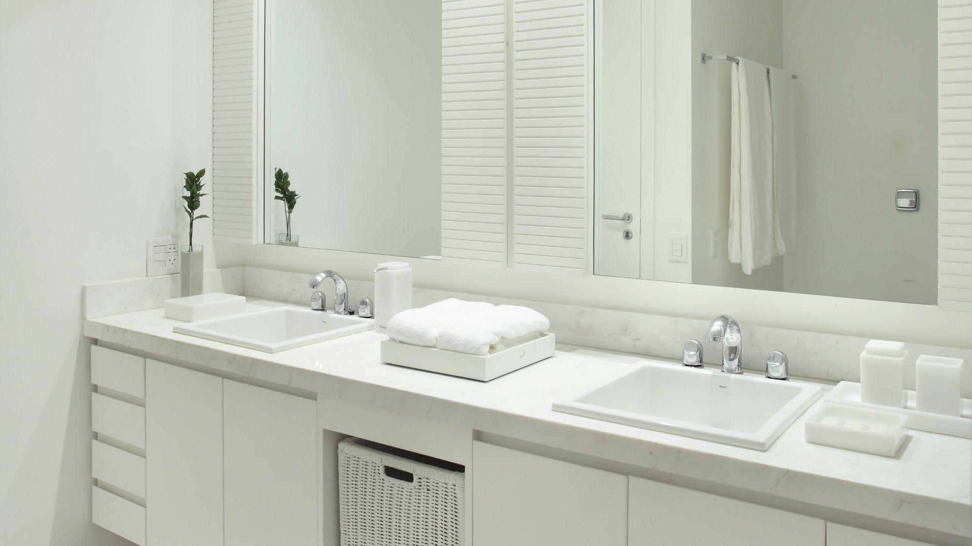 Imagens De Banheiros Decorados Simples #1