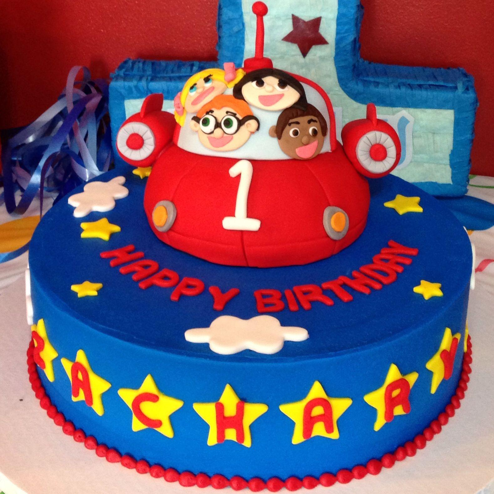 My Sons 1st Birthday Cake Little Einsteins Theme