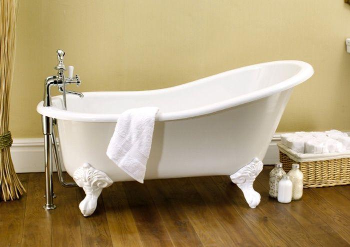 Vasca Da Bagno Piccola Con Piedini : Bagnoidea.com vasca da bagno con piedini e schienale alto