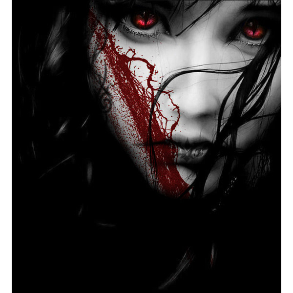 Dark Evil Woman Wallpaper Gothic Girls Liked On
