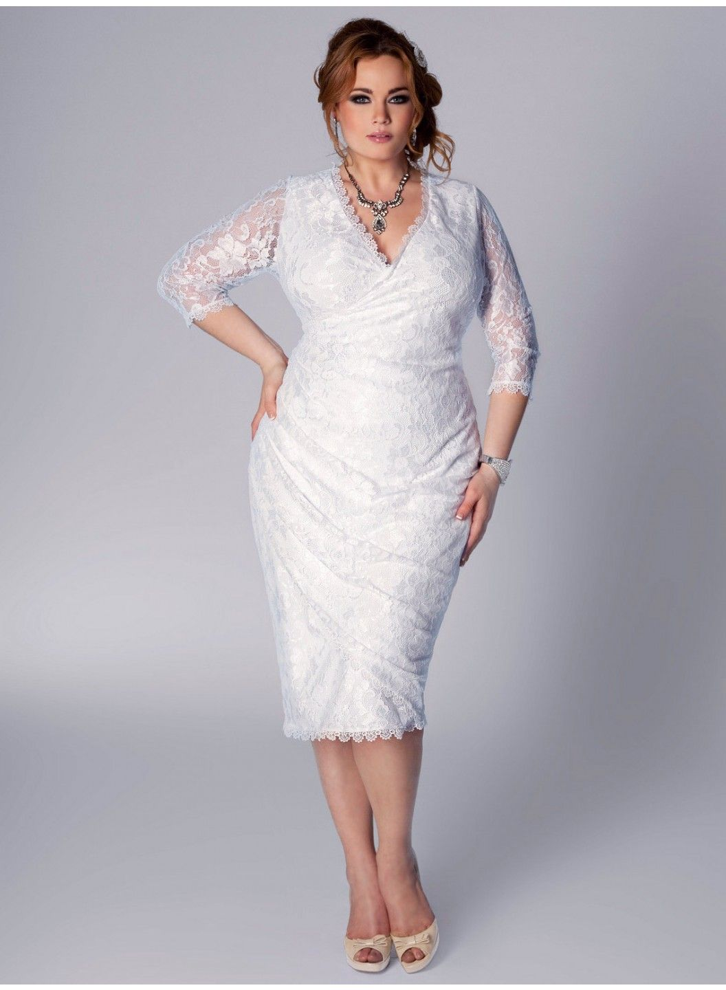 Mindy Plus Size Top in Tuberose | Wedding dress and Wedding