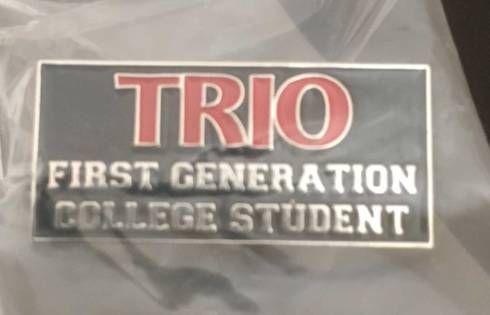 Trio First Generation Student Lapel Pin Paul D Camp Community