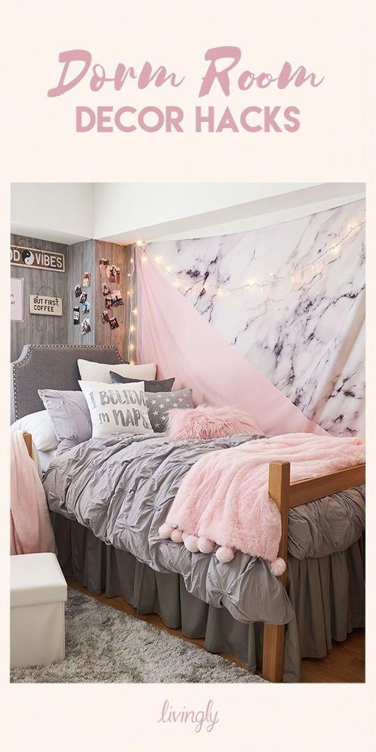 Whether you're looking for inexpensive ways to create the wall art of your dreams, or organization suggestions for all your makeup and jewelry, we have all the tips and tricks for you  Check out our l is part of Cool dorm rooms -