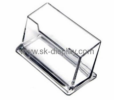 Factory Hot Selling Acrylic Cheap Business Card Holder Name Card Holder Acrylic Brochure Holder Plastic Business Cards Brochure Holders Acrylic Display Stands