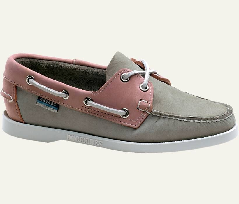 womens boat shoes grey-pink | shoes | Pinterest | Pink, Grey and ...